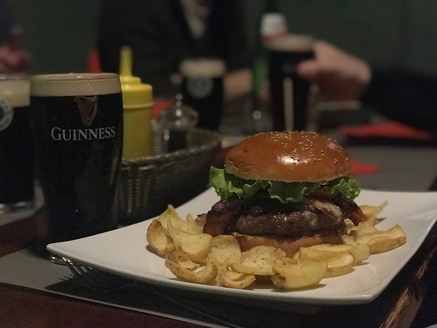Everywhere you go, cityscapes are dotted with American,style hamburger  hamlets. But there\u0027s a big difference. The myriad pubs and brewhouses use  higher